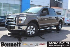 2015 Ford F-150 XLT - 5.0V8 4x4 with Boards + Tonneau
