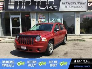 2008 Jeep Compass Sport ** 4X4, Automatic, Heated Seats, Low KMs