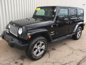 2016 Jeep Wrangler Unlimited Sahara LOADED UNLIMITED V6 EDITI...