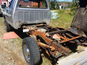 First gen 3/4 ton dodge chassis & running gear