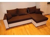 Shaped Sofa Bed with ample storage ***PRICE NEGOTIABLE***