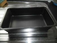 Promens 655 Black Food Trays x 12 Boxes
