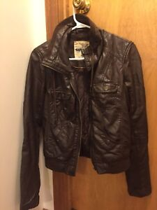 Women's leather jacket-from garage