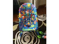 Fisher price rocking/ bouncer
