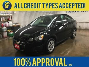 2016 Chevrolet Sonic LT*REMOTE STARTER*PHONE*BACK UP CAMERA*KEYL