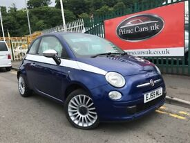 2009 (59 reg) Fiat 500 1.3 Multijet Pop 3dr Turbo Diesel 5 Speed Manual Cheap Tax
