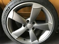 Audi A3 18inch Rotor Arm Alloy Wheel Genuine