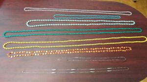 Lot de 21 colliers tout pour 5$ / 21 necklaces for 5$
