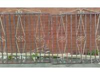 Garden gates two off( wrought )