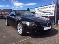BMW 6 SERIES AUTOMATIC CONVERTIBLE