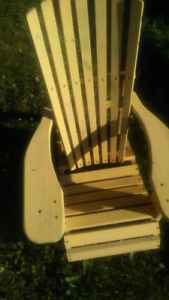 2 Wooden kids chairs