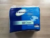 Tena Slip Super - Plastic Backed