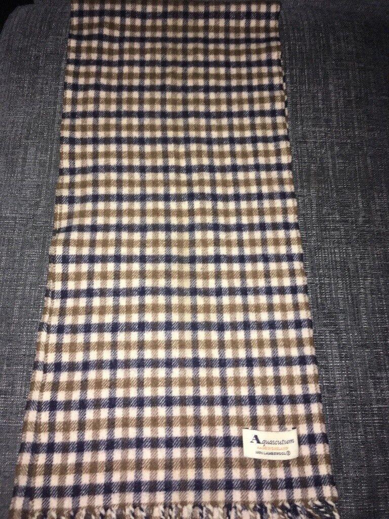Designer aquascutum and burberry scarfs