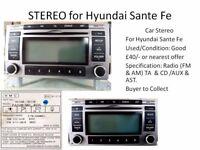 Car Stereo for Hyundai Sante Fe