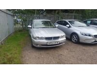 Jaguar x type SE 2002 2.1 v6 auto breaking for spares