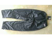 Spada 905 100% Waterproof motorcycle trousers. Medium. Brand new with tag.