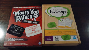 Would You Rather and The Game of Things