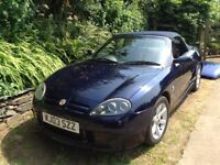 MG TF Blue Convertible Sportscar - Good Condition - Fun in the Sun!