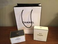 Chanel No 5 eau de toilette and soap