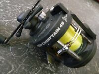 swap ma fishing reel for ...?... works ok, no longer used.