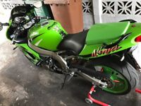 Kawasaki zx-6r 1999 12 months MOT