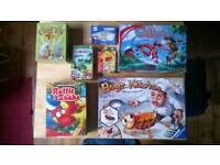 Children's boardgame bundle 7 games!