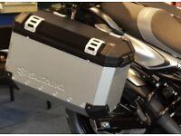 Suzuki OEM Trax Panniers for Suzuki V-Strom 2014-2016