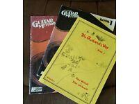 Guitar books, The Guitarist Way and Hal Leonard Guitar Method