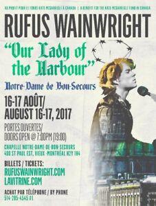 Rufus  Wainwright 16 août 2017