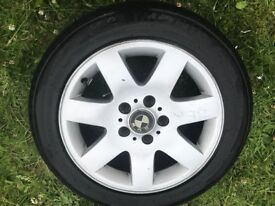 BMW E46 7 spoke alloys