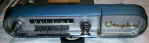 1957 CHRYSLER Custom Car Radio & Dash Factory Face Plate