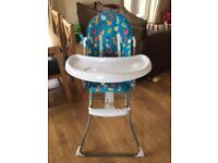 Bright stars highchair