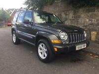 Jeep Cherokee 4x4 Ltd 2.8 Crd Auto-55 Plate-Service History-1 Years Mot-Excellent Condition