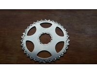 MOUNTAIN BIKE REAR CASSETTE INDIVIDUAL COGS, SHIMANO COMPATABLE TEETH FROM 34 DOWN TO 14
