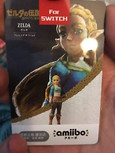 The legend of Zelda: Breath of the Wild Amiibo NFC Tag Cards