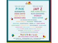 2 V festival tickets