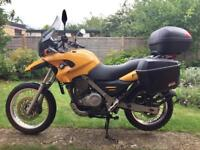 BMW F650 GS with Luggage - Yellow - 2000