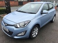 Superb Value 2012 62 i20 1.4 Active 5 Dr Hatch 57000 Mile HPI Clear Very Clean Example Great MPG...