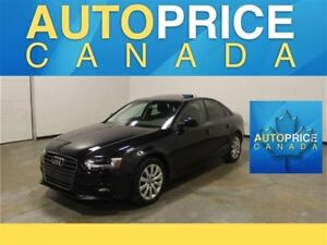 2013 Audi A4 2.0T|MOONROOF|LEATHER|AWD