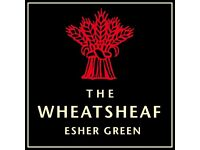 Bar/Waiting Staff - The Wheatsheaf, Esher - Great hourly rate + great tips and discounted dining!