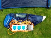 Peakland Doverdale 300 tent with electric