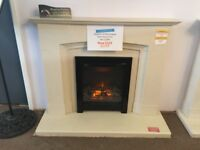 ex display fireplace suite