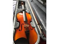 Stagg Violin with case and bow