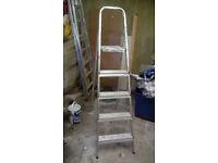 Four tread step ladder