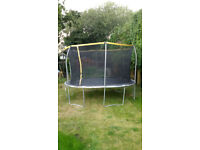 Trampoline 12ft Sports Power with safety net