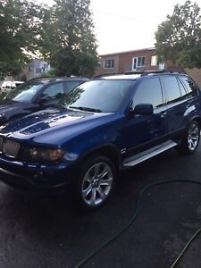 Bmw X5M 4.8is Lemans Blue