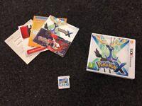Pokemon X 3DS Game