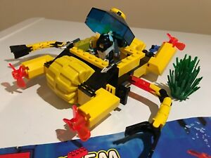 Lego #6145 Crystal Crawler Aquazone set
