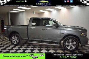 2013 RAM 1500 SPORT-NAVI*BLUETOOTH*LEATHER
