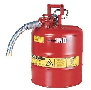 Tank a gas Justrite Fuel tank 5 gallons Jerry can